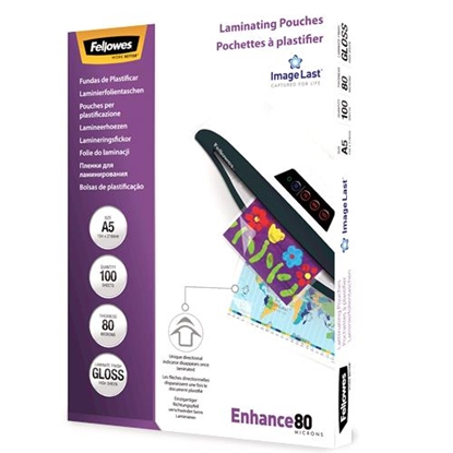 Picture of Fellowes ImageLast A5 80 micron   100-pack