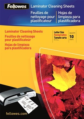 Изображение Fellowes A4 Cleaning & Carrier Sheets - 10 pack