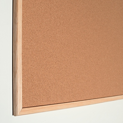 Attēls no Esselte Pinboard Cork Standard wood frame 90 x 60 cm