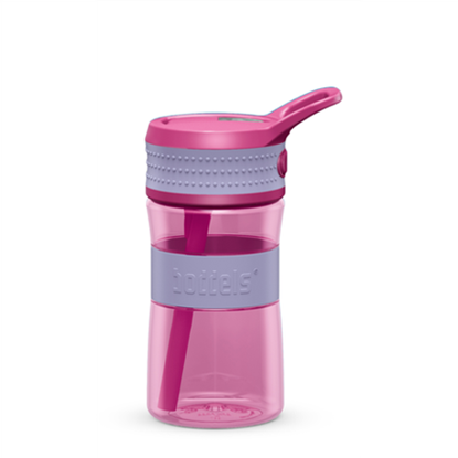 Attēls no Boddels EEN Drinking bottle Bottle, Lavender blue/Pink, Capacity 0.4 L, Diameter 7.5 cm, Yes