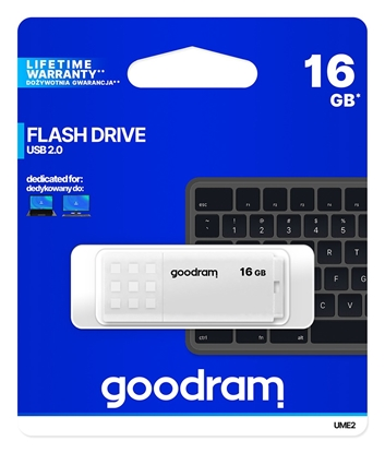 Изображение GoodRam 16GB UME2 White USB 2.0