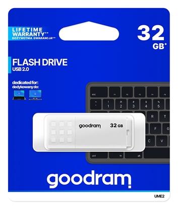 Изображение GoodRam 32GB UME2 White USB 2.0