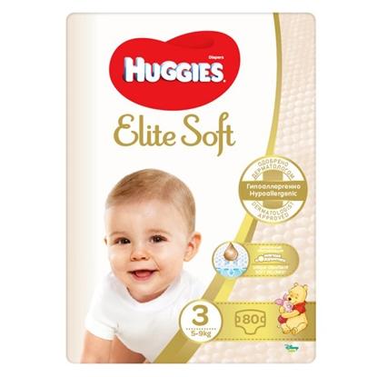 Attēls no Autiņbiksītes Huggies Elite Soft 3 5-9kg 80gab
