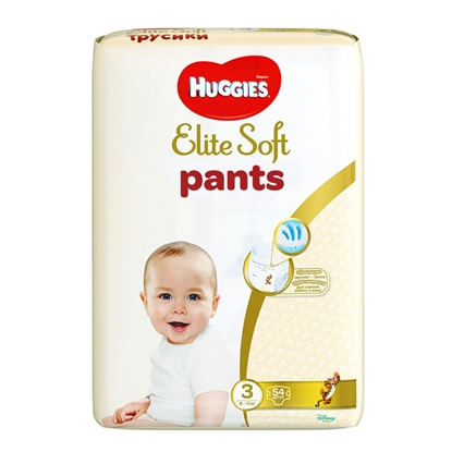 Изображение Autiņbiksītes Huggies Elite Soft Pants 3, 6-11kg 54gab.