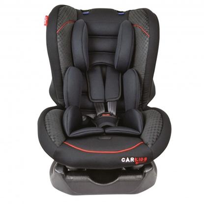 Изображение Bērnu auto sēdeklītis melns/sarkans