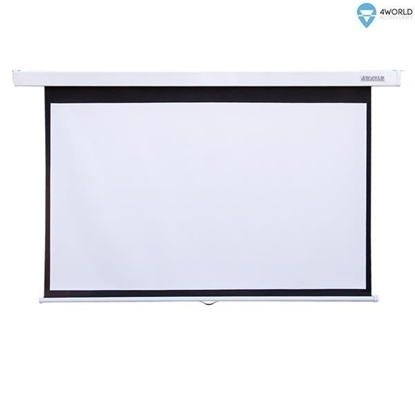 Picture of 4WORLD 10606 4World Wall Projection Scre