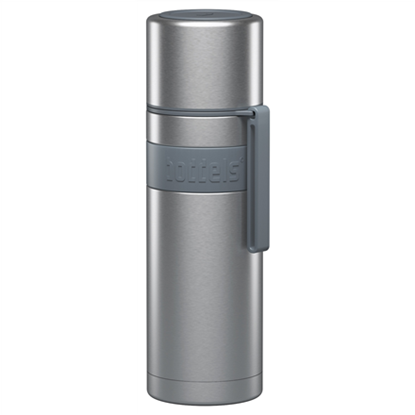 Attēls no Boddels HEET Vacuum flask with cup  Light grey, Capacity 0.5 L, Diameter 7.2 cm, Bisphenol A (BPA) free