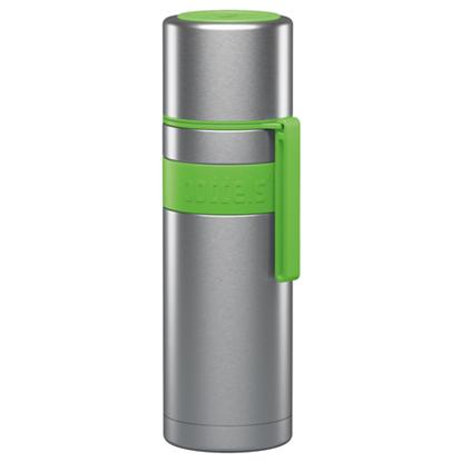 Изображение Boddels HEET Vacuum flask with cup Apple green, Capacity 0.5 L, Diameter 7.2 cm, Bisphenol A (BPA) free