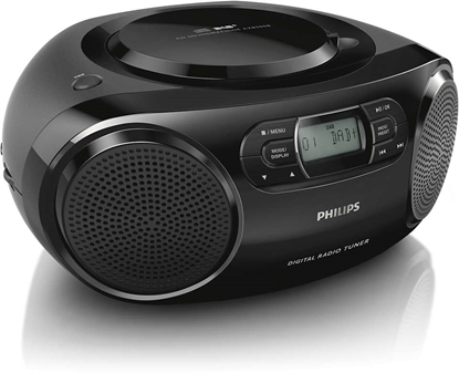 Attēls no PHILIPS CD Soundmachine AZB500/12 DAB+, DAB, FM, Black