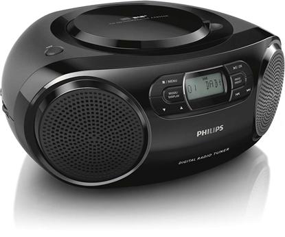 Изображение PHILIPS CD Soundmachine AZB500/12 DAB+, DAB, FM, Black