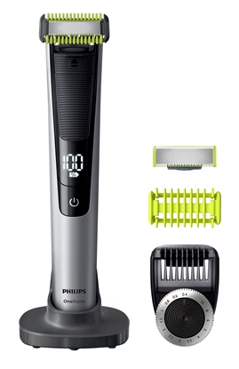 Изображение Philips OneBlade Pro Shaver QP6620/20 Wet & Dry Yes, Wet use, Black/Silver