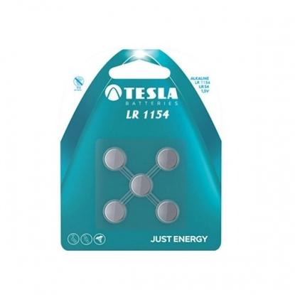 Picture of Battery Tesla LR 1154 LR44 125 mAh (5 pcs)