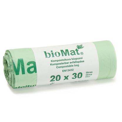 Изображение Atkritumu maisi Biomat 30l 20gab.
