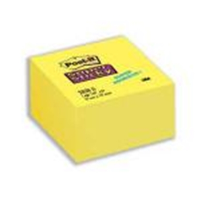Изображение *Līmlapiņu kubs 3M Post-it Super Sticky 76x76mm/350l.dzelten
