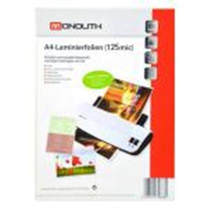 Изображение Laminēšanas kabatas A4 125mic 100gab glancētas