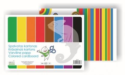 Изображение Cardboard SMLT, A4, 190 g, color, single-sided, (8)