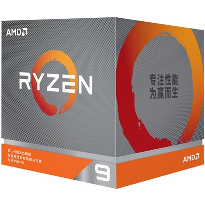 Picture of AMD   CPU Desktop Ryzen 9 16C/32T 3950X (4.7GHz,70MB,105W,AM4) box, without