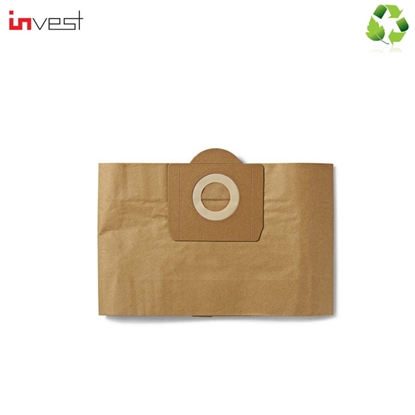 Изображение Invest Eco Paper Vacuum Cleaner bags AEG / BOSCH / ELECTROLUX / HOOVER / KARCHER (5pcs.) 6.959-130&KAR