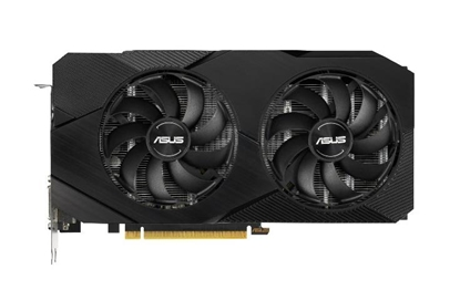 Picture of Asus ASUS DUAL-GTX1660S-6G-EVO NVIDIA, 6 GB, GeForce GTX 1660 SUPER, GDDR6, PCI Express 3.0, Processor frequency 1785  MHz, DVI-D ports quantity 1, HDMI ports quantity 1, Memory clock speed 14002  MHz
