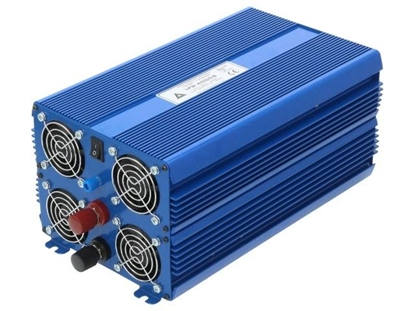 Attēls no (AZO-IPS-4000/12V-E) Azo digital Converter: automotive dc/ac; 2kW; Uout:230VAC; Out: mains 230V