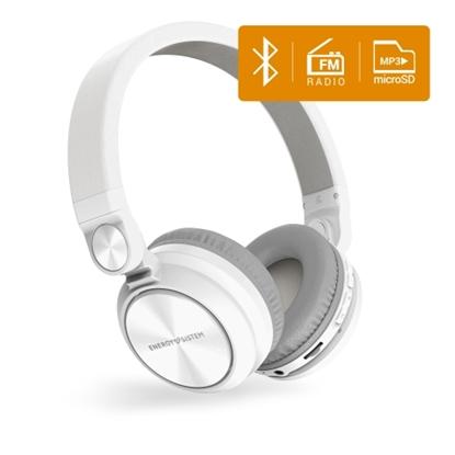 Attēls no ENERGY SISTEM HEADPHONES BT URBAN 2 RADIO WHITE (MICROSD MP3 PLAYER, FMRADIO, BLUETOOTH) BLUETOOTH HEADPHONES. GUARANTEE 3 YEARS!