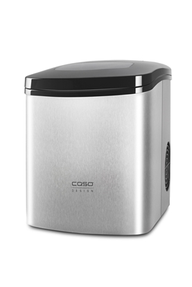 Attēls no Caso 3304 ice cube maker 150 W Portable ice cube maker 12 kg/24h Black,Stainless steel