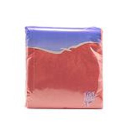 Attēls no Salvetes 24x24 cm,  100 salvetes,  bordo krāsa