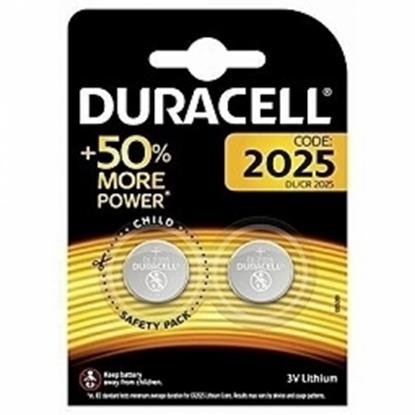 Attēls no Duracell DL/CR 2025 Batteries - 2 Pack