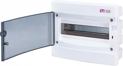 Attēls no ECM24PT-s plast. sadalne 24 mod. z/a, caurspid. durv. IP40, 15 PE / 2x7 N