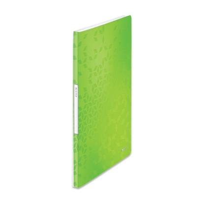 Picture of ESSELTE Mape prospektiem Leitz WOW ar 20 kabatiņām, A4 formāts, zaļā krāsā