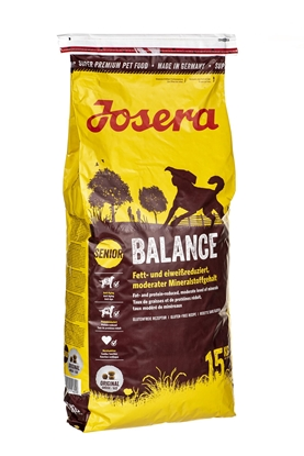 Picture of Josera 1515 dogs dry food Senior Corn,Poultry,Rice 15 kg