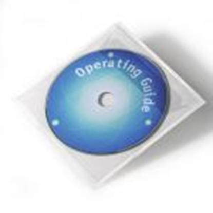 Attēls no *Pašlīmējošas kabatiņas CD/DVD diskiem 10gab. DURABLE