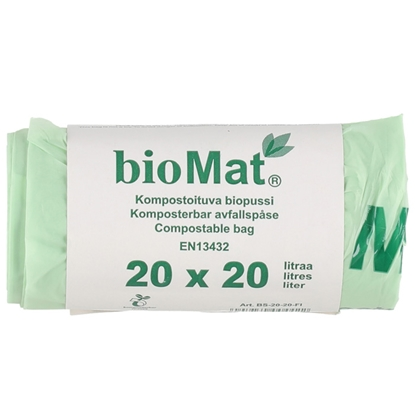 Изображение Atkritumu maisi Biomat 20l 20gab.