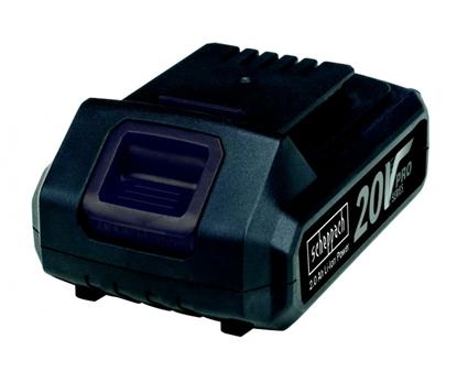 Изображение Akumulators 20V / 2,0 Ah, Li, Scheppach