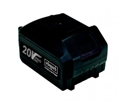 Изображение Akumulators 20V / 4,0 Ah, Li, Scheppach