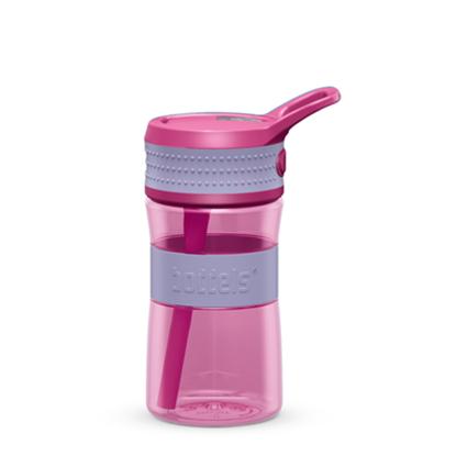 Изображение Boddels EEN Drinking bottle Bottle, Lavender blue/Pink, Capacity 0.4 L, Diameter 7.5 cm, Bisphenol A (BPA) free