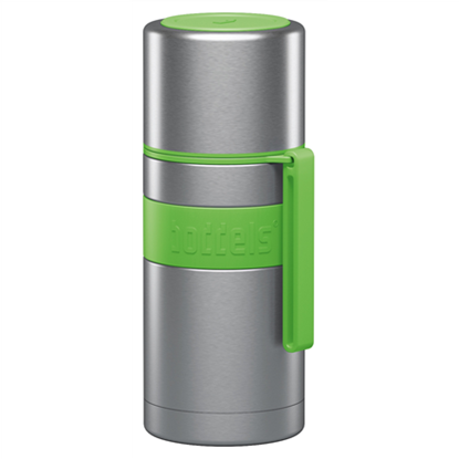 Attēls no Boddels HEET Vacuum flask with cup  Apple green, Capacity 0.35 L, Diameter 7.2 cm, Bisphenol A (BPA) free