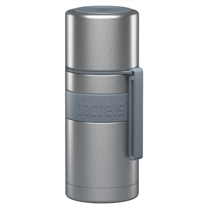 Attēls no Boddels HEET Vacuum flask with cup  Light grey, Capacity 0.35 L, Diameter 7.2 cm, Bisphenol A (BPA) free