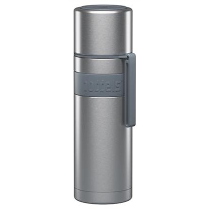 Изображение Boddels HEET Vacuum flask with cup  Light grey, Capacity 0.5 L, Diameter 7.2 cm, Bisphenol A (BPA) free