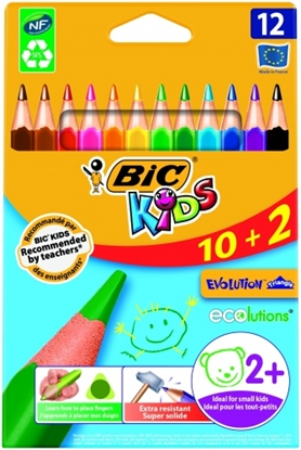 Изображение BIC Colored pencils EVOLUTION TRIANGLE Pouch 12 pcs 8871462