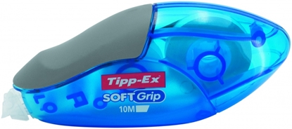 Изображение BIC correction tape SOFT GRIP 4.2mm x 10m., Pouch 10 pcs 277175