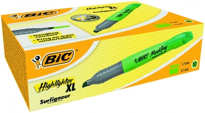 Изображение BIC Highlighter XL 2-5 mm, green, Pouch 10 pcs 247147