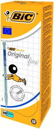 Изображение BIC Mechanical pencils ORIGINAL 0.5 mm, HB, Pouch 12 pcs 604589