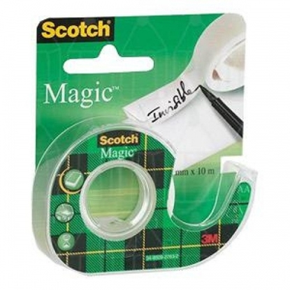 Изображение Adhesive tape 810 Scotch® Magic 19mm x 7.5m, invisible to the holder 1114-118