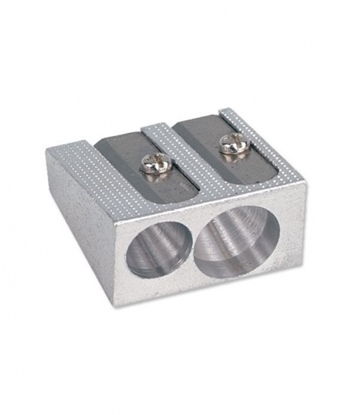 Picture of Aluminum metal sharpener, 2 hole