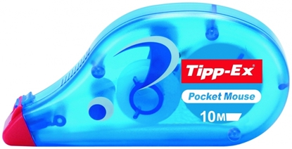 Изображение BIC correction tape POCKET MOUSE 10M BOX10 BCL EU, 1 pcs 510364