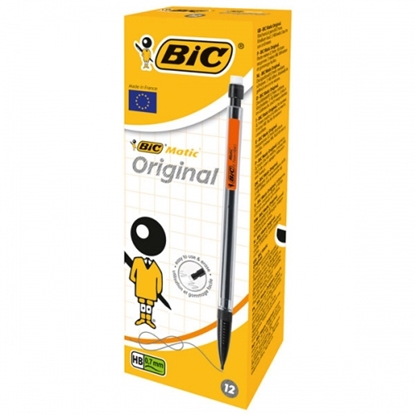 Изображение BIC Mechanical pencils ORIGINAL 0.7 mm, HB, Pouch 12 pcs 8209591