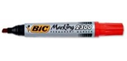 Изображение BIC permanent MARKER ECO 2300 B12 BCL RED EU, 1 pc 300034