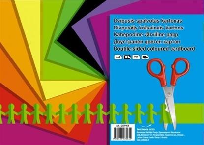 Изображение Cardboard SMLT, A4, 190 g, color, both sided, (8) 0708-103