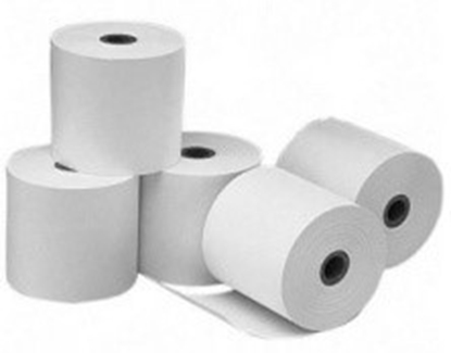 Picture of Cash Register Thermal Paper Roll Tape, 10pcs (573712-T) width 57mm, length 15m, bushings 12mm, maximum diameter 37mm